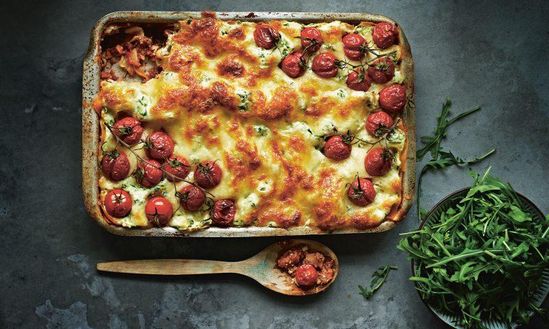 Lasagne med ricotta