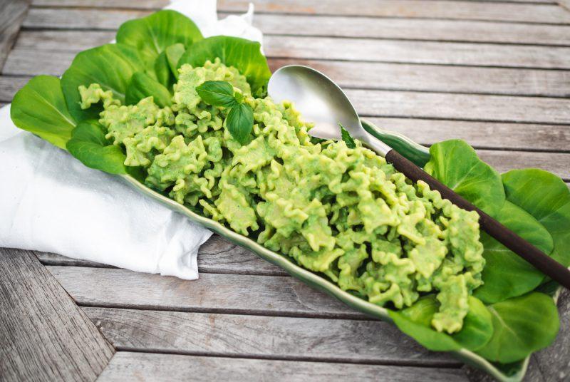 Recept grönpastasallad