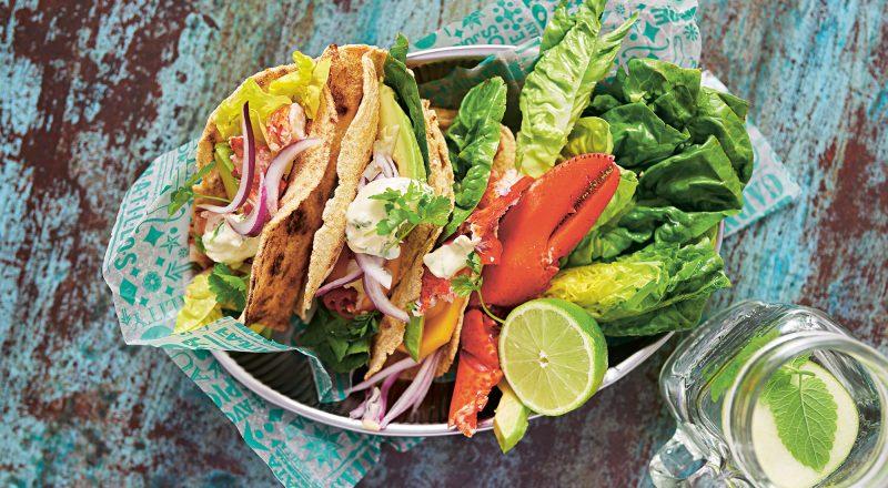 Recept hummertacos