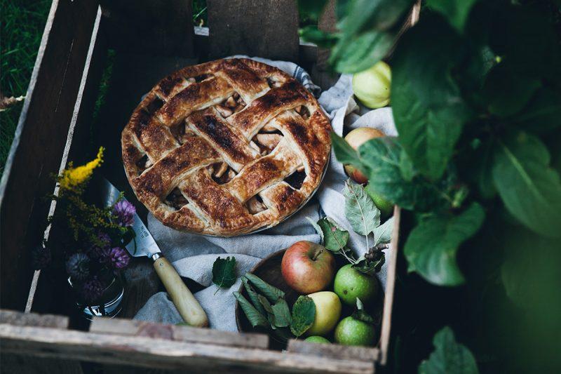 Klassisk äppelpaj av Linda Lomellino