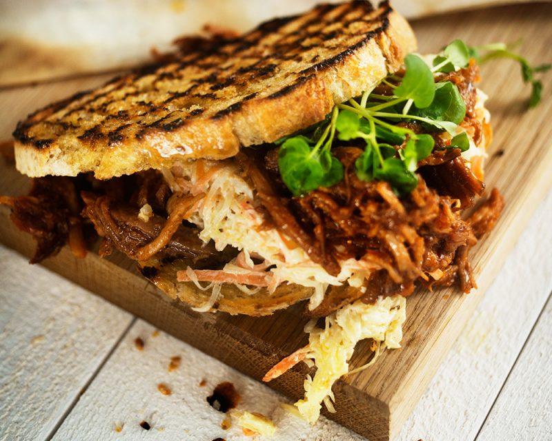 recept pulled pork sandwich