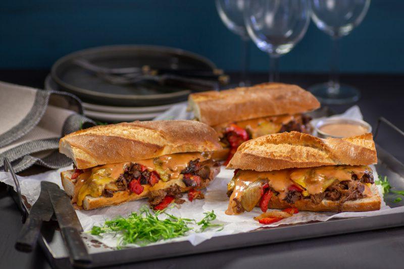 Recept rostbiffssmörgås med srirachamajonnäs